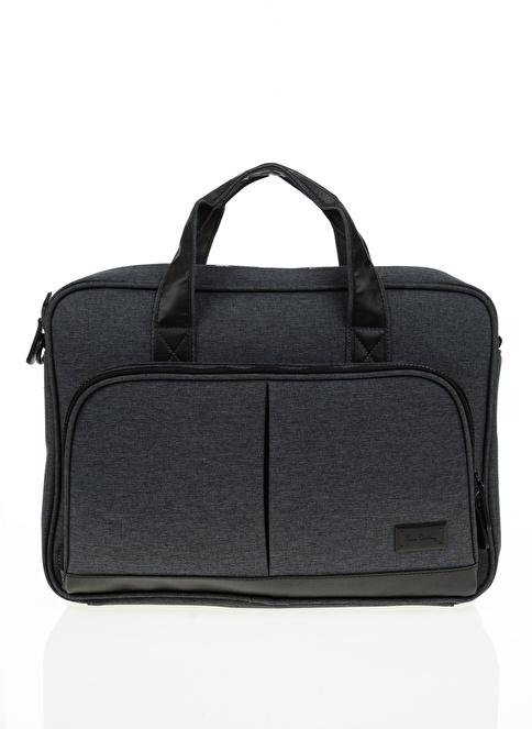 Pierre Cardin Laptop /Evrak Çantası Gri